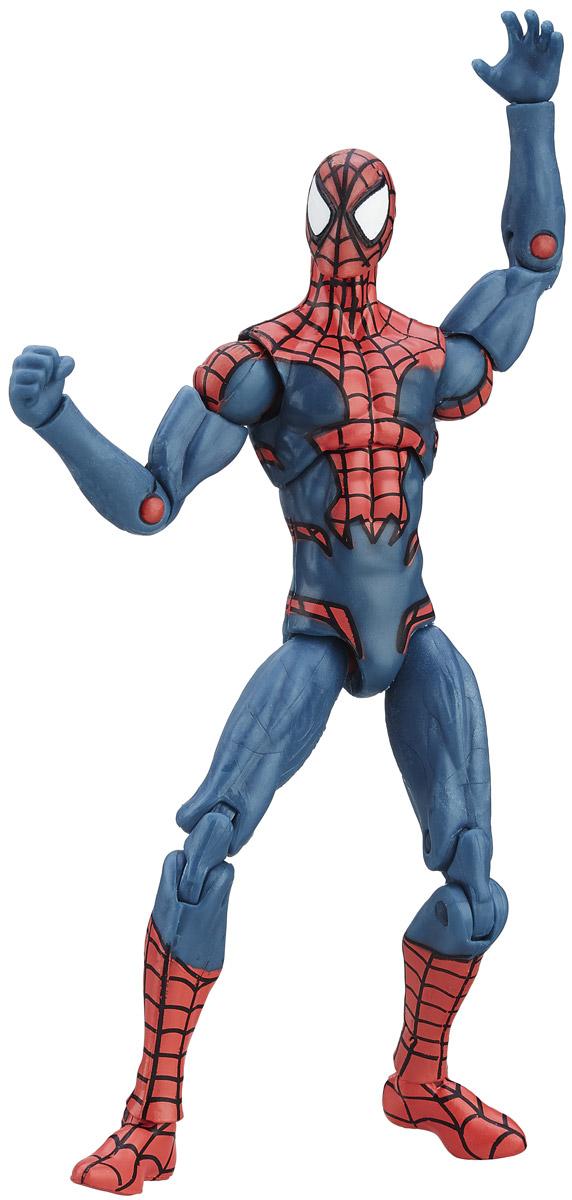 Marvel Фигурка Spider-ManB6356_B6407_Spider-ManФигурка Marvel Spider-Man порадует любого поклонника знаменитой вселенной Marvel. Фигурка изготовлена из высококачественного прочного пластика и выполнена в виде супергероя Человека-паука. Голова, руки и ноги игрушки подвижны. Фигурка Marvel Spider-Man понравится как детям, так и взрослым коллекционерам, она станет отличным сувениром или займет достойное место в коллекции любого поклонника комиксов Marvel. Высота фигурки: 11 см.