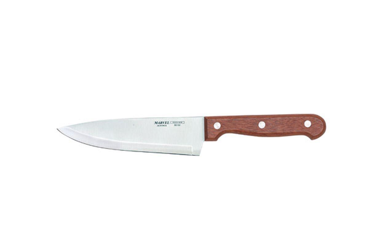 Нож столовый Marvel Rose Wood, цвет: серый, длина лезвия 15 см. 8916089160