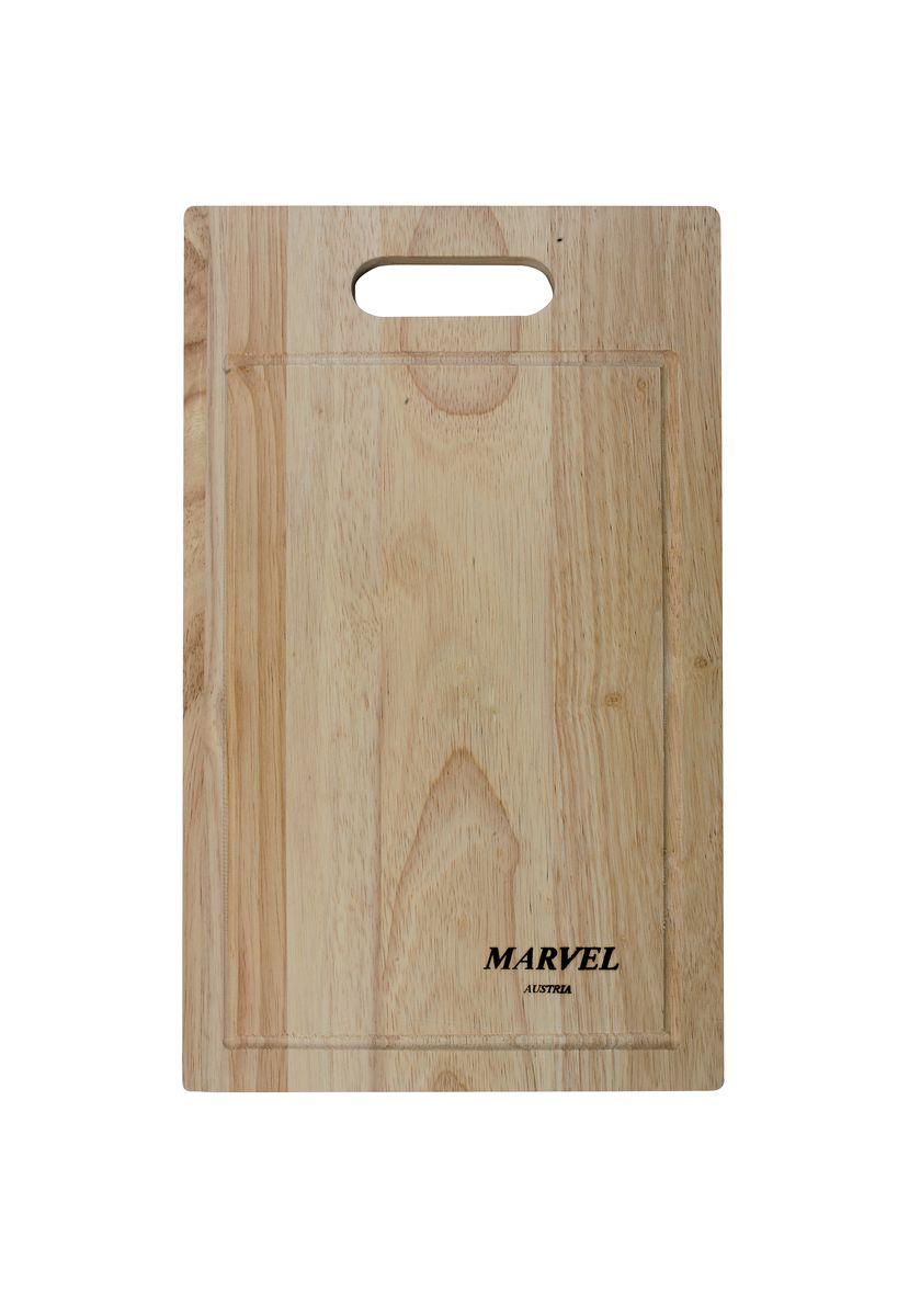"Доска разделочная ""Marvel"", цвет: светло-коричневый, 38 х 23 х 2 см"