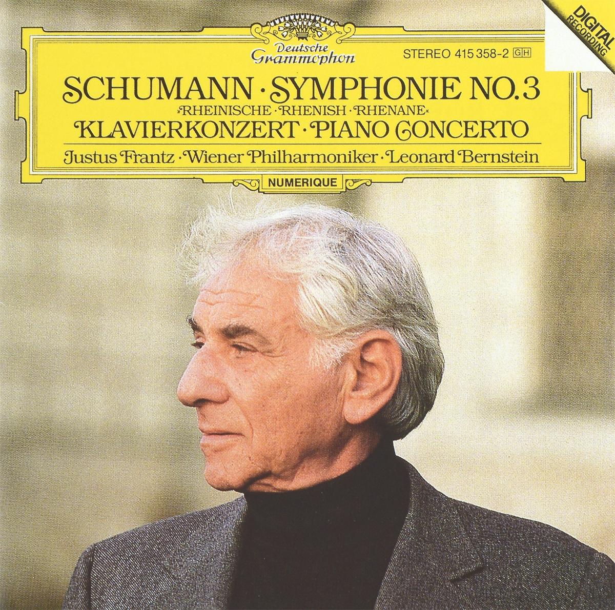 Leonard Bernstein. Schumann. Symphonie No. 3 / Klavierkonzert