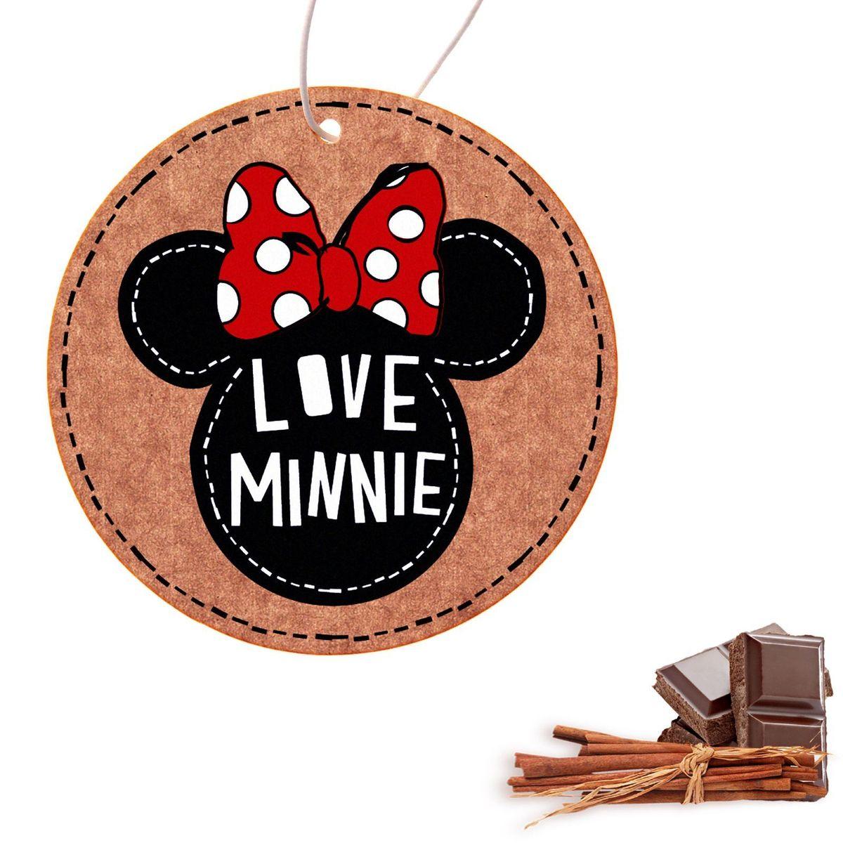 Ароматизатор в авто Disney Минни Маус. Love Minnie, 8,6 х 16,1 см1149006Яркость в серые городские будни и скучную езду по пробкам добавит ароматизатор в авто Love Minnie, Минни Маус. В нем сочетаются эксклюзивный дизайн и приятный аромат. Повесьте его на зеркало, и любимые герои уничтожат неприятные запахи. Если у вас нет автомобиля — не беда! Повесьте ароматизатор дома или на работе и наслаждайтесь чудесным благоуханием.