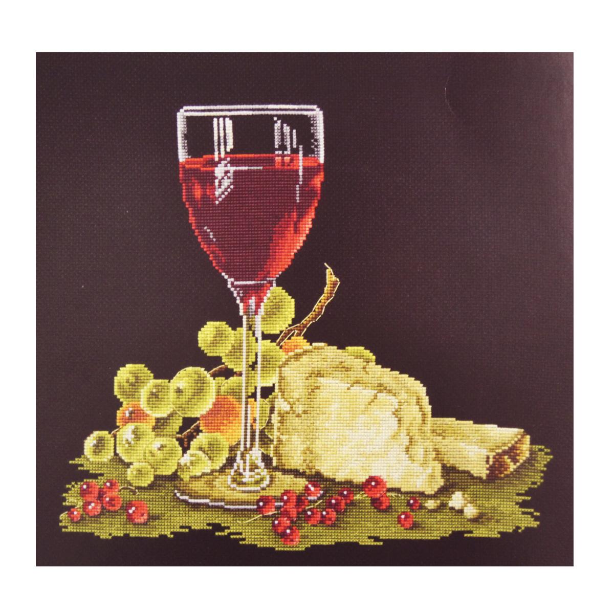 Набор для вышивания крестом Овен Голландский натюрморт, 30 х 28 см набор для вышивания крестом овен весна 21 х 23 см