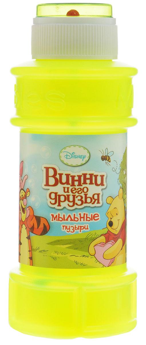 Веселая затея Мыльные пузыри Disney Винни и его друзья цвет желтый неон 175 мл