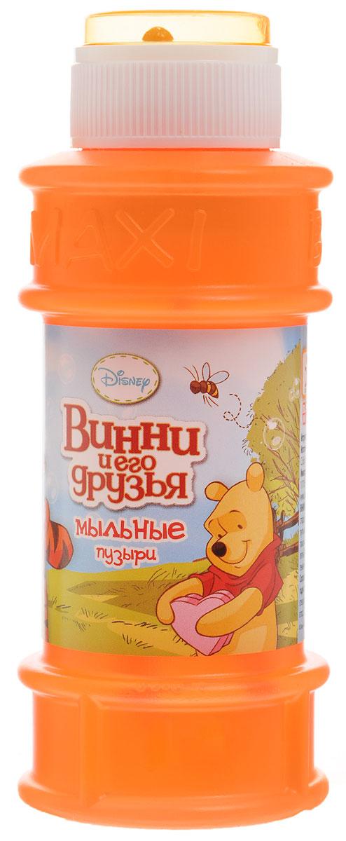 Веселая затея Мыльные пузыри Disney Винни и его друзья цвет оранжевый 175 мл