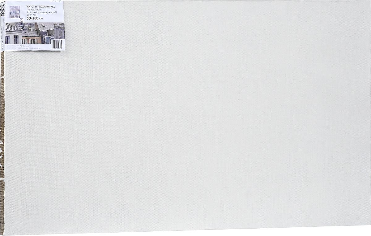 Холст ArtQuaDram Репинский на подрамнике, грунтованный, 50 х 100 смТ0003925Холст на деревянном подрамнике ArtQuaDram Репинский изготовлен из 100% натурального льна. Подходит для профессионалов и художников. Холст не трескается, не впитывает слишком много краски, цвет краски и качество не изменяются. Холст идеально подходит для масляной и акриловой живописи.