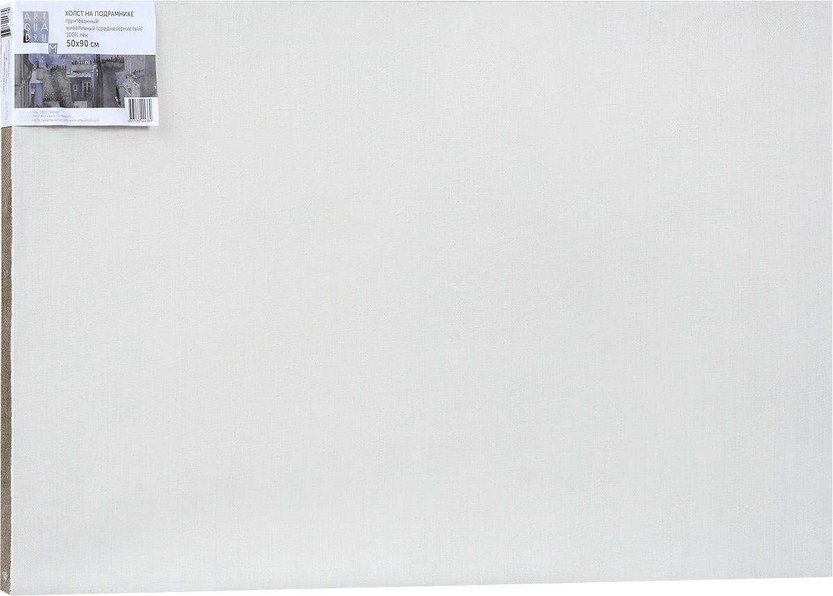 Холст ArtQuaDram Живописный на подрамнике, среднезернистый, грунтованный, 50 х 90 смТ0003755Холст на деревянном подрамнике ArtQuaDram Живописный изготовлен из 100% натурального льна. Подходит для профессионалов и художников. Холст не трескается, не впитывает слишком много краски, цвет краски и качество не изменяются. Холст идеально подходит для масляной и акриловой живописи.