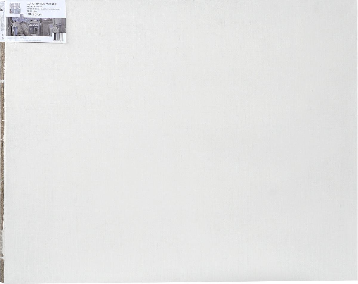 Холст ArtQuaDram Живописный на подрамнике, среднезернистый, грунтованный, 70 х 90 смТ0003809Холст на деревянном подрамнике ArtQuaDram Живописный изготовлен из 100% натурального льна. Подходит для профессионалов и художников. Холст не трескается, не впитывает слишком много краски, цвет краски и качество не изменяются. Холст идеально подходит для масляной и акриловой живописи.