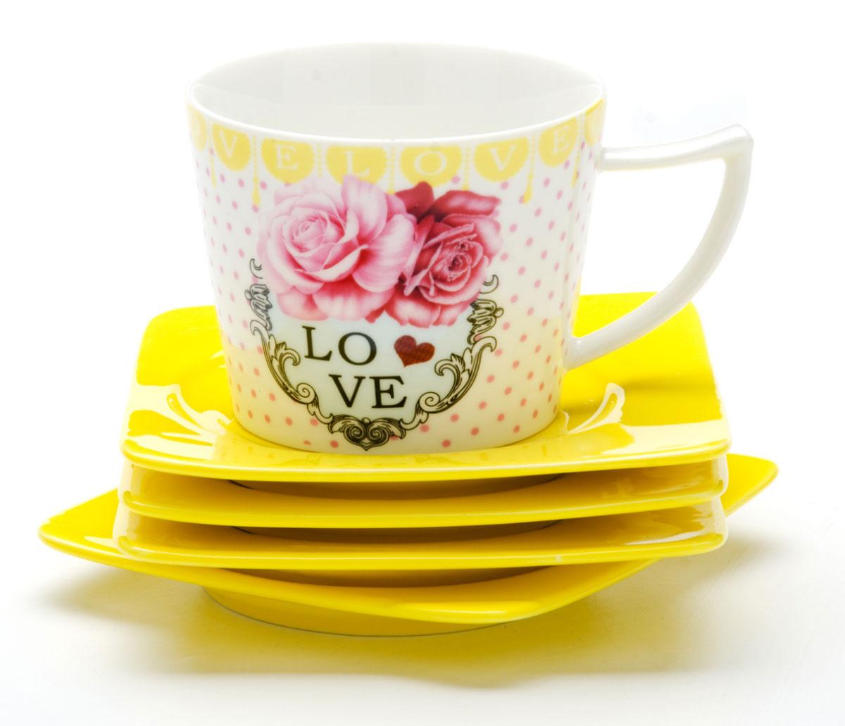 Набор кофейный Mayer & Boch, 12 предметов. 2471924719Кофейный набор LORAINE состоит из 6 чашек и 6 блюдец, выполненных из высококачественой керамики. Изящный дизайн придется по вкусу и ценителям классики, и тем, кто предпочитает утонченность и изысканность. Он настроит на позитивный лад и подарит хорошее настроение с самого утра. Набор упакован в стильную подарочную коробку. Внутренняя часть коробки задрапирована белой атласной тканью. Каждый предмет надежно зафиксирован внутри коробки благодаря специальным выемкам. Чайный набор - идеальный и необходимый подарок для вашего дома и для ваших друзей в праздники, юбилеи и торжества! Он также станет отличным корпоративным подарком и украшением любой кухни.