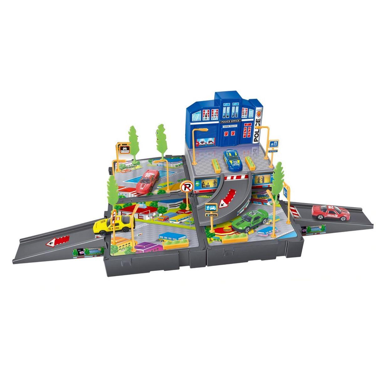 Dave Toy Игровой набор Полицейский участок 32024