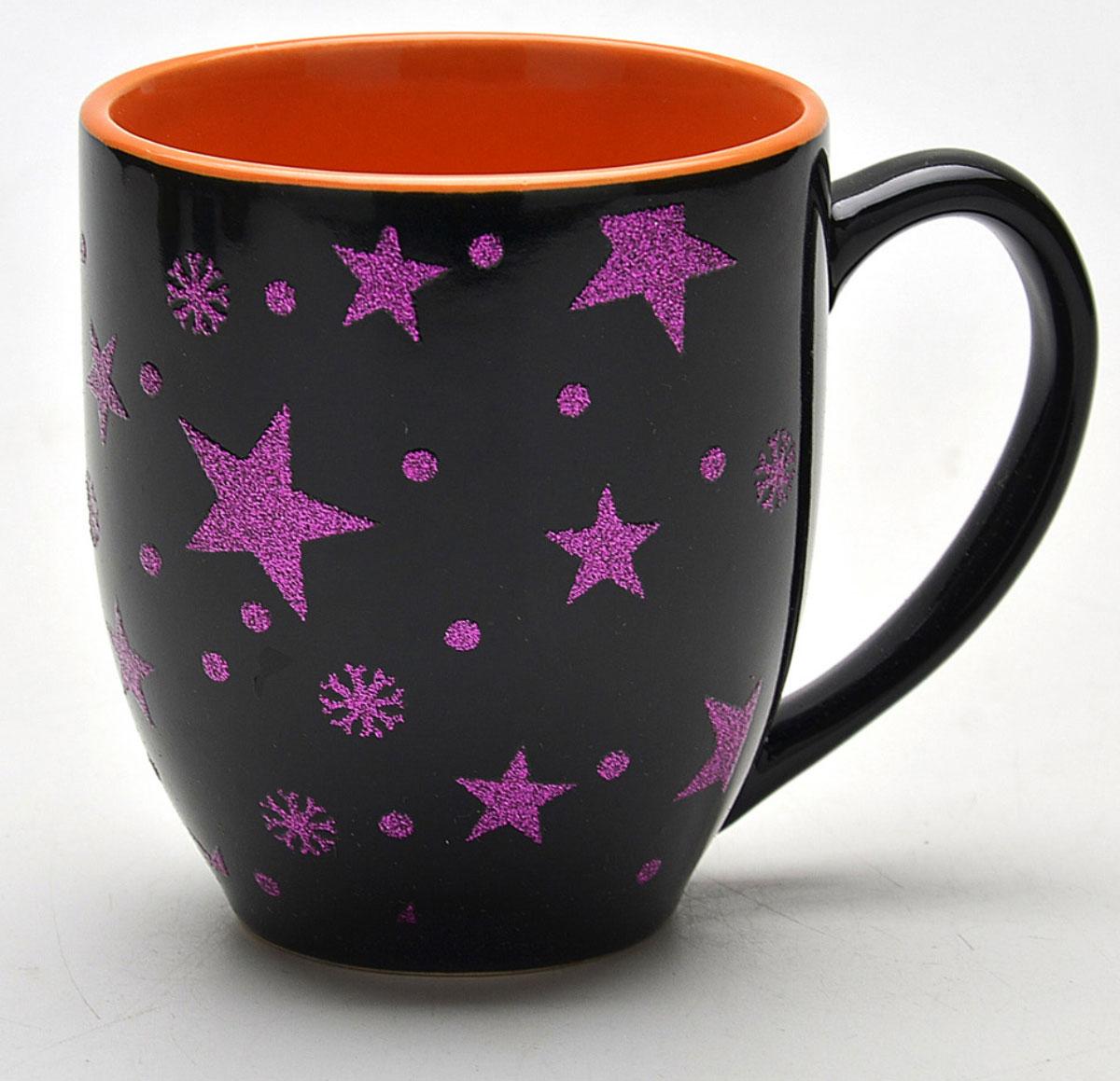 Кружка Loraine Темная ночь, 450мл716Материал: керамика.