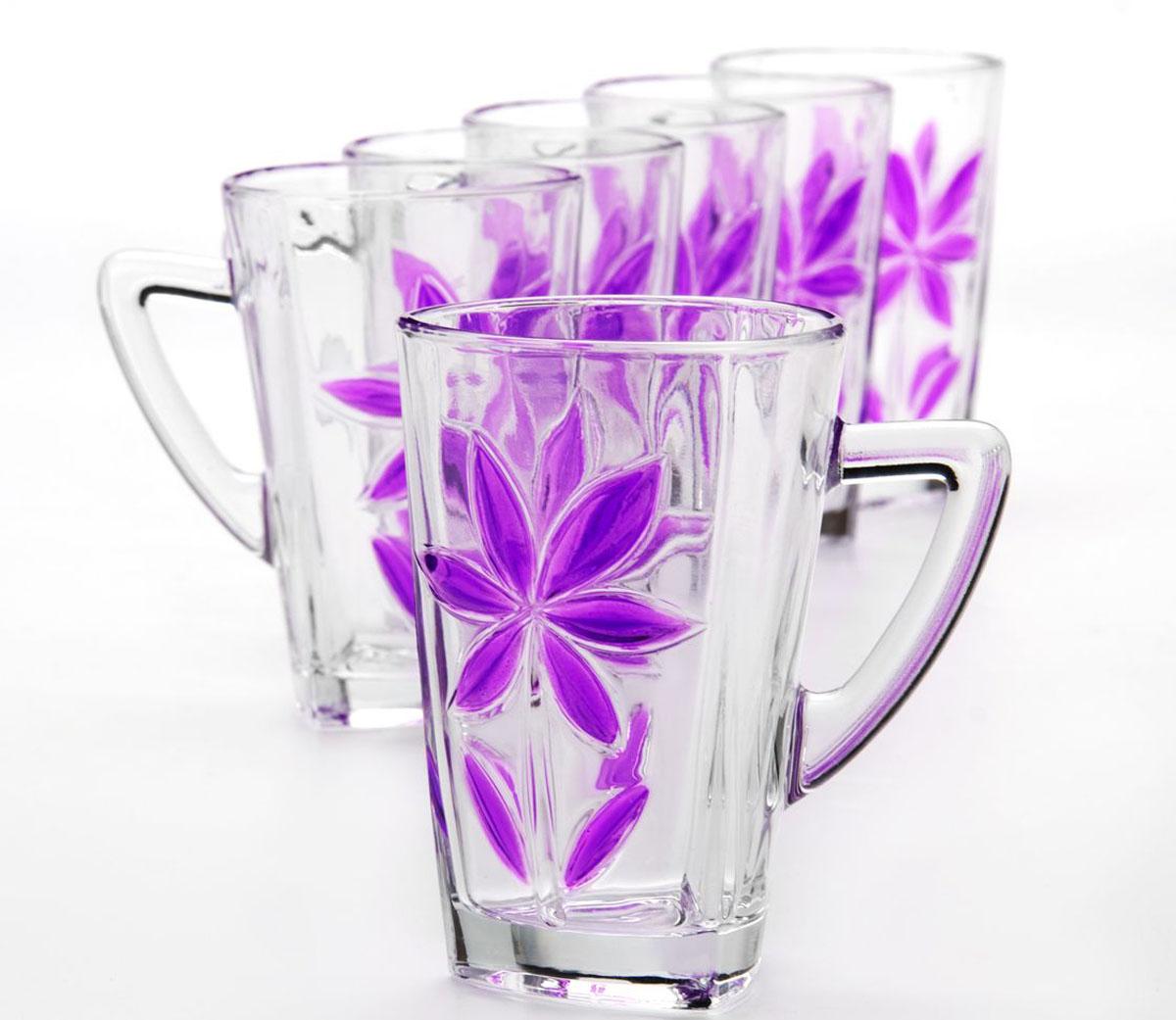 Набор стаканов Mayer & Boch, 255 мл, 6 шт24084-24085Набор, состоящий из шести стаканов, несомненно, придется вам по душе. Стаканы выполнены из высококачественного стекла в мягких тонах с оригинальным цветочным узором. Благодаря такому набору пить напитки будет еще вкуснее. Набор стаканов Loraine станет также отличным подарком на любой праздник. Подходит для горячих и холодных напитков.