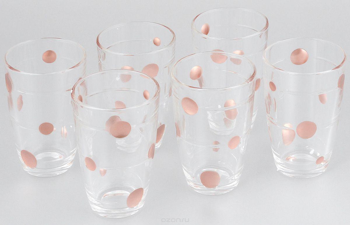 Набор стаканов Loraine, 300 мл, 6 шт. 2407024070Набор, состоящий из шести стаканов, несомненно, придется вам по душе. Стаканы выполнены из высококачественного стекла в мягких тонах с оригинальным цветочным узором. Благодаря такому набору пить напитки будет еще вкуснее. Набор стаканов Loraine станет также отличным подарком на любой праздник. Подходит для горячих и холодных напитков.