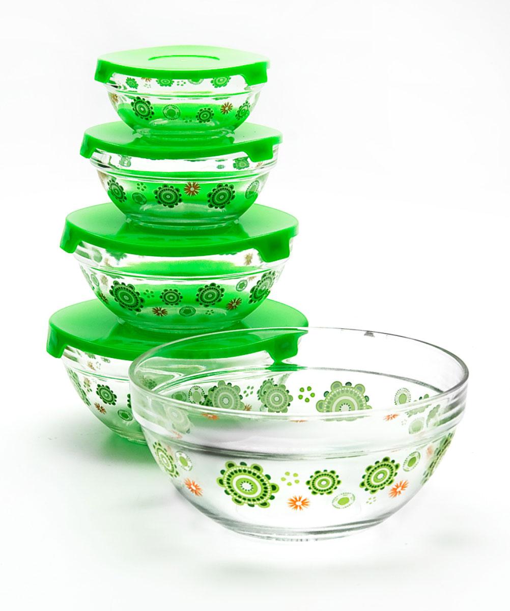 Набор салатников Loraine, 5 предметов331Материал: жаропрочное стекло.