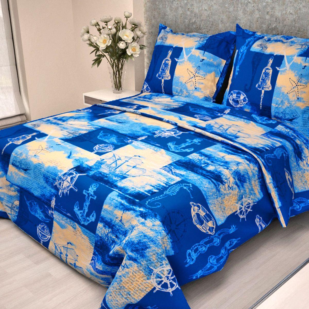 Letto Комплект детского постельного белья Кораблик