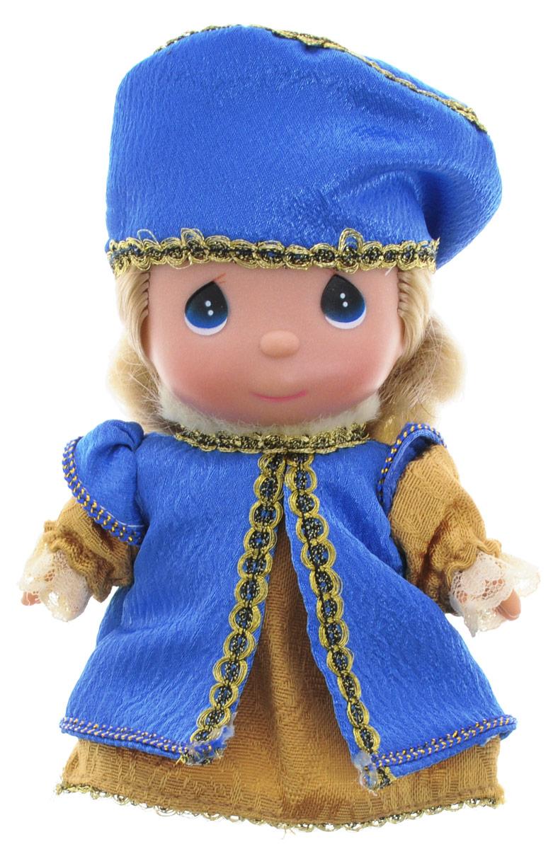 Precious Moments Мини-кукла Снегурочка8391Какие же милые эти куколки Precious Moments. Создатель этих очаровательных крошек настоящая волшебница - Линда Рик - оживила свои творения, каждая кукла обрела свой милый и неповторимый образ. Эти крошки могут сопровождать вас в чудесных странствиях и сделать каждый момент вашей жизни незабываемым! Мини-кукла Снегурочка одета в привлекательный костюм, украшенный кружевами и тесьмой. У куколки большие синий глазки и светлые волосы. Благодаря играм с куклой, ваша малышка сможет развить фантазию и любознательность, овладеть навыками общения и научиться ответственности. Порадуйте свою принцессу таким прекрасным подарком!