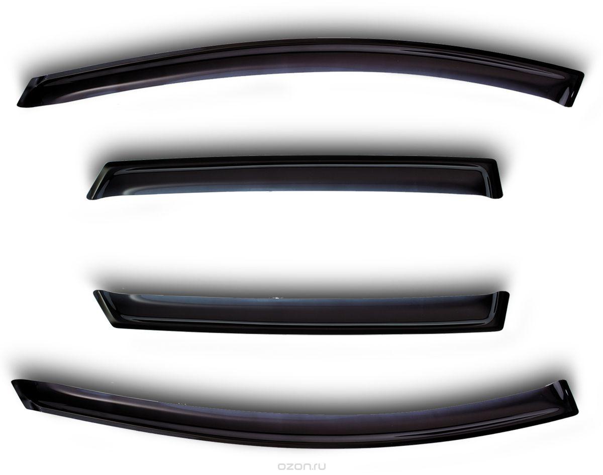Комплект дефлекторов Novline-Autofamily, для Mercedes Sprinter 2006-, 4 штNLD.SMERSPR0632/2FКомплект накладных дефлекторов Novline-Autofamily позволяет направить в салон поток чистого воздуха, защитив от дождя, снега и грязи, а также способствует быстрому отпотеванию стекол в морозную и влажную погоду. Дефлекторы улучшают обтекание автомобиля воздушными потоками, распределяя их особым образом. Дефлекторы Novline-Autofamily в точности повторяют геометрию автомобиля, легко устанавливаются, долговечны, устойчивы к температурным колебаниям, солнечному излучению и воздействию реагентов. Современные композитные материалы обеспечивают высокую гибкость и устойчивость к механическим воздействиям.
