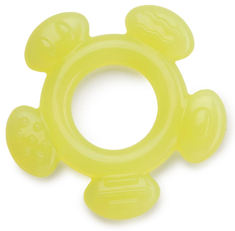 Happy Baby Прорезыватель цвет лимонный