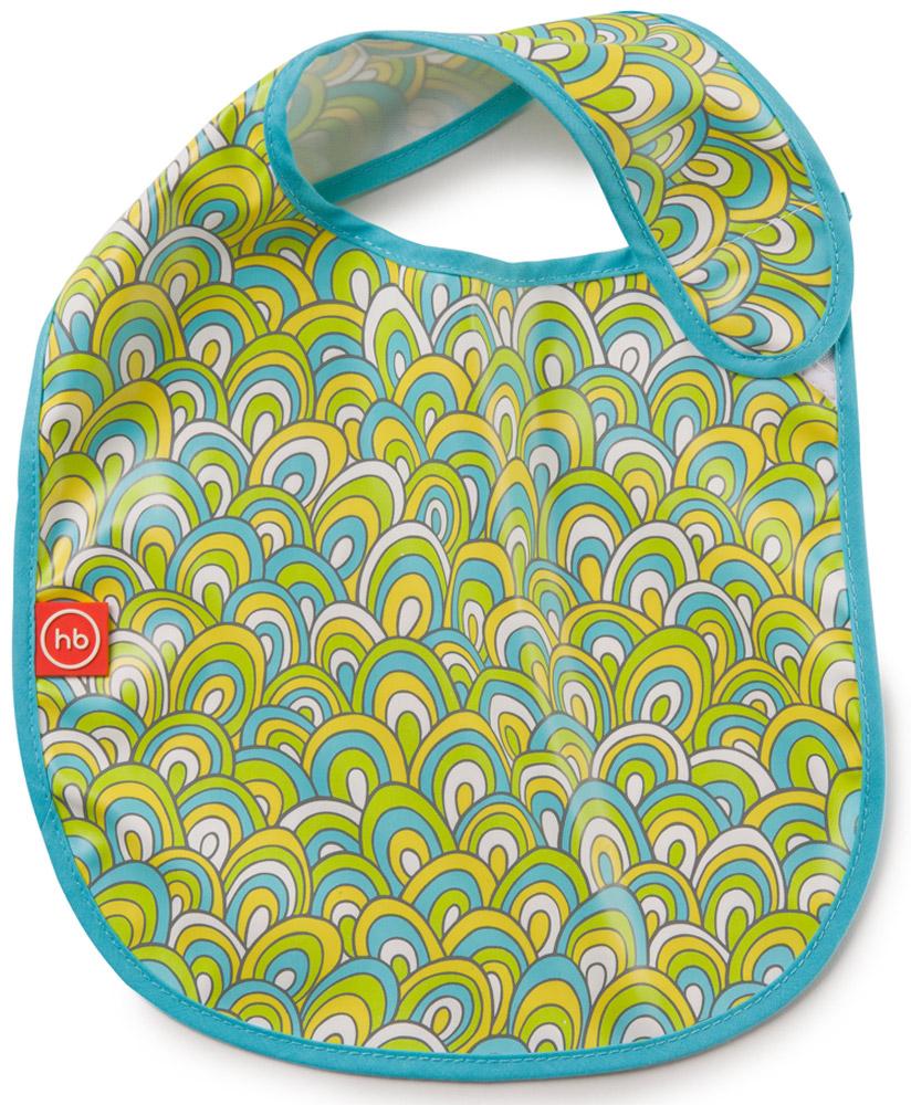 Happy Baby Фартук нагрудный цвет голубой белый желтый