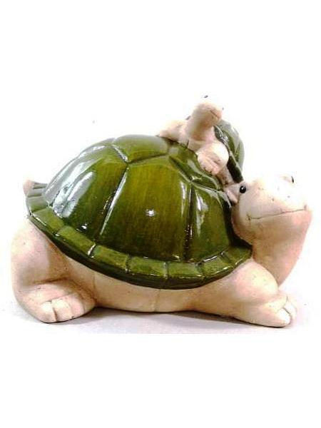 Садовая фигура Marquis Черепашки, 26 см х 21 см х 20 см127-MR127-MR. Садовая фигура - Черепашки. Материал: Керамика. Размеры ДхШхВ: 26х21х20 см. Вес товара: 1,750 кг.