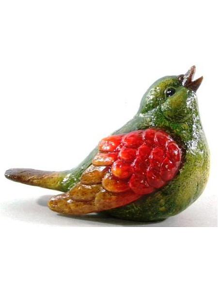 Садовая фигура Marquis Птичка, 21 см х 12 см х 16 см142-MR142-MR. Садовая фигура - Птичка. Материал: Керамика. Размеры ДхШхВ: 21х12х16 см. Вес товара: 0,780 кг.