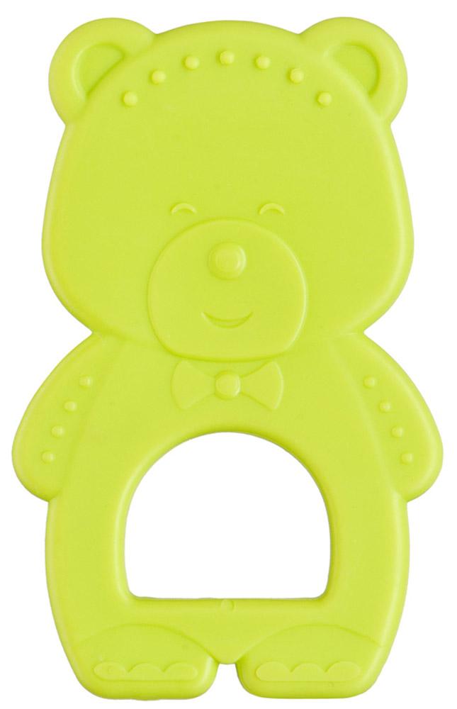 Happy Baby Прорезыватель Мишка цвет салатовый20005_салатовыйПрорезыватель Happy Baby Мишка поможет вашему малышу снять неприятные ощущения во время появления первых зубов. Он изготовлен из прочного безопасного термопластичного эластомера. Рельефная поверхность прорезывателя мягко массирует десны малыша, снимает напряжение, усиливает слюноотделение и предотвращает кариес. Благодаря эргономичному дизайну он проникает в труднодоступные места ротовой полости.