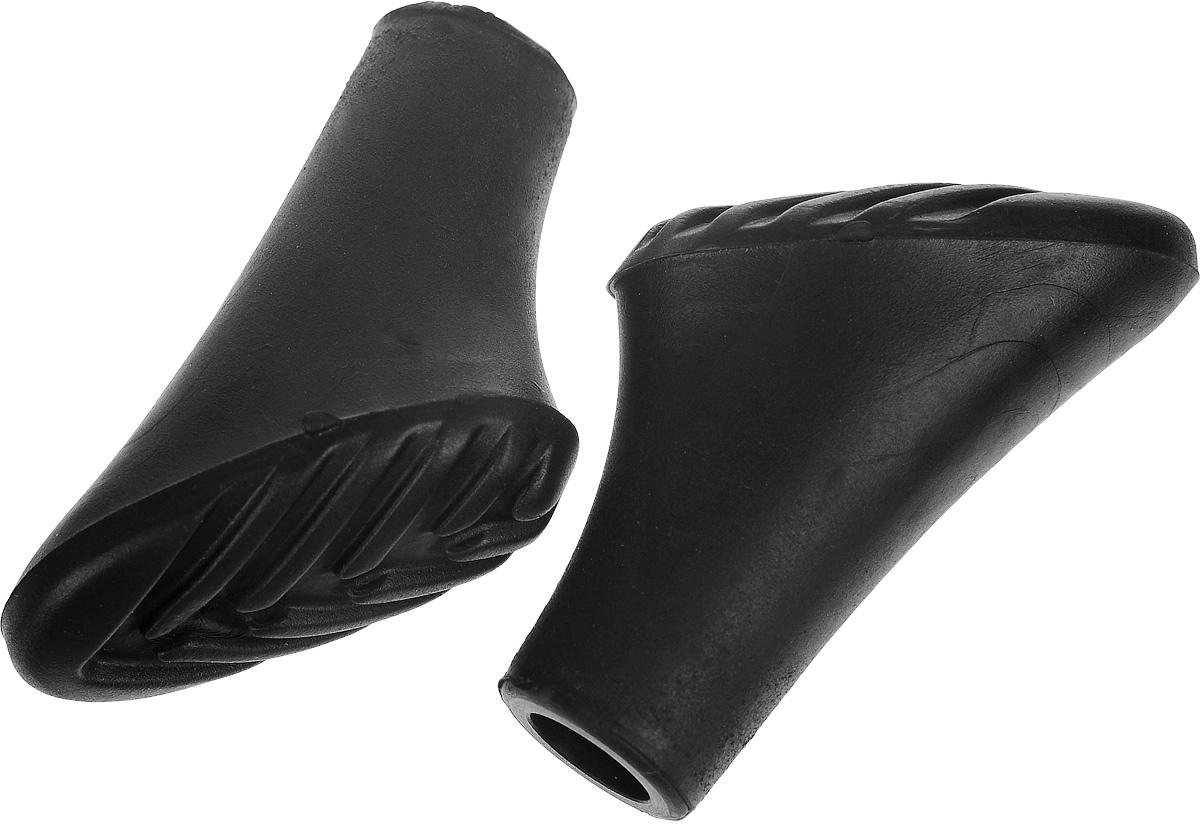 Колпачки для скандинавских палок, 2 штT014Насадка на палку для скандинавской ходьбы, предназначена для передвижений по асфальтовым дорожкам или плотному грунту. Изделие выполнено из полимера. Использование данной насадки необходимо для предотвращения повреждения покрытия и уменьшения износа палки из-за постоянного трения о твердую поверхность. Кроме того, при наличии насадки вы не будете издавать громкого стука при ходьбе. Комплектация: 2 шт. Размер колпачка: 4 х 2,5 х 4 см.