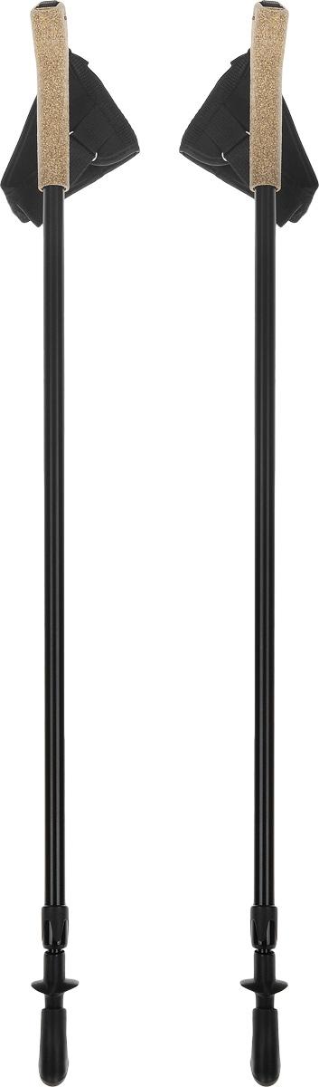 Палки для скандинавской ходьбы, телескопические, длина 80-135 см, 2 шт. FT138B