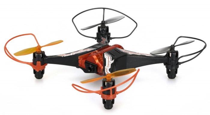 Silverlit Квадрокоптер на радиоуправлении Spy Drone II цвет черный оранжевый ( 84738_черный, оранжевый )