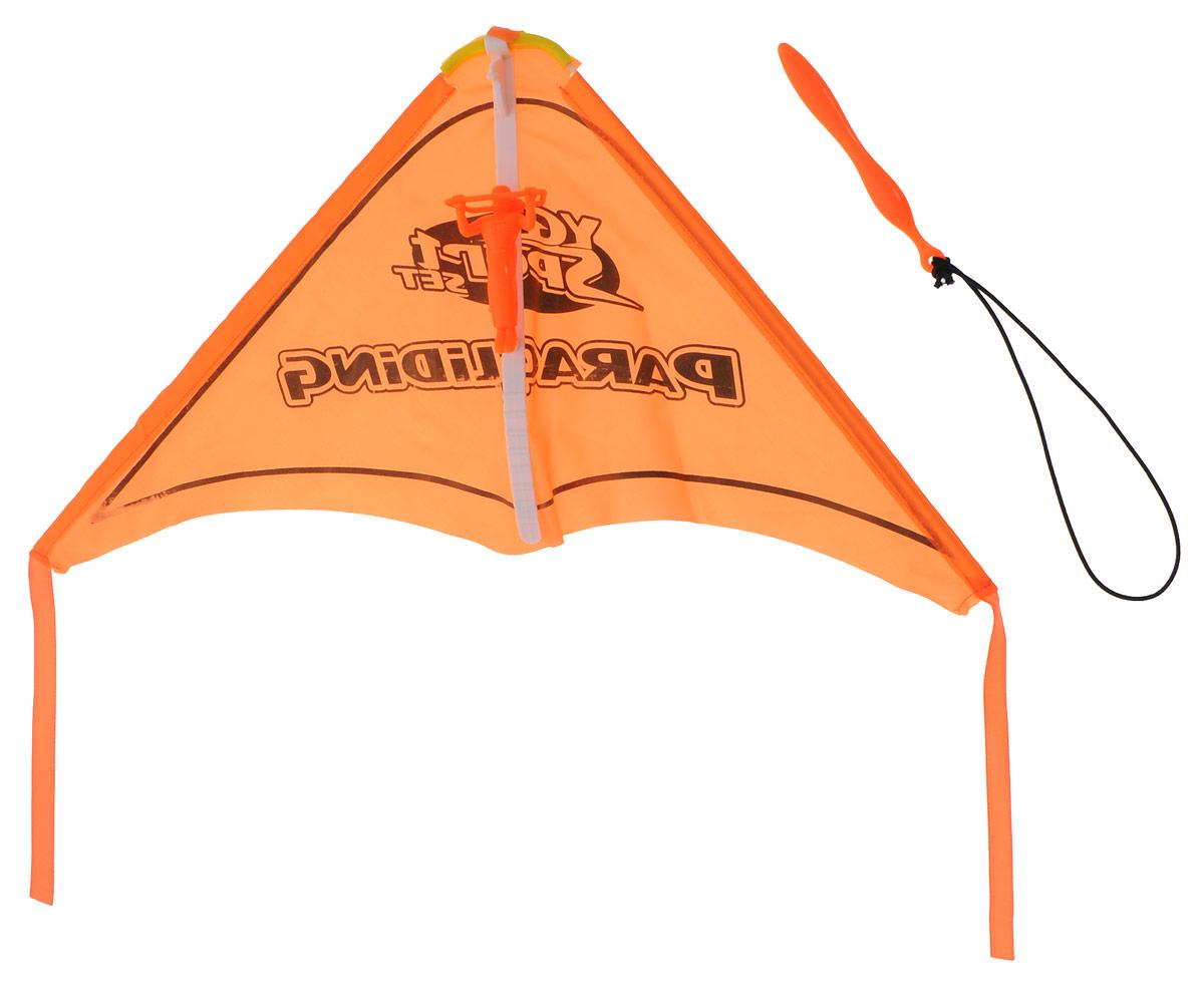 YG Sport Игровой набор ПланерYG08YИгровой набор YG Sport Планер - это замечательная игрушка для активных ребят. Набор изготовлен из прочного пластика, имеет очень простую конструкцию, внешне и по принципу работы напоминает воздушного змея. В набор включено пусковое устройство, благодаря которому планер запускается в полет, словно из рогатки. Также к нему цепляется фигурка храброго пилота, выполненная из пластика. Игрушка легкая, компактно складывается для простоты переноски, что очень важно для детишек, которые не сидят на месте ни минуты.