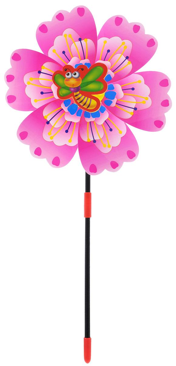 Zilmer Вертушка Ветрячок цвет розовыйZIL1810-020Вертушки - популярное летнее развлечение на свежем воздухе. Вертушка Zilmer Ветрячок имеет яркий привлекательный дизайн, разноцветные лепесточки крутятся даже от малейшего ветерка. Игрушка прекрасно подойдет и девочкам, и мальчикам, подарит отличное настроение и сделает день еще насыщеннее и веселее.