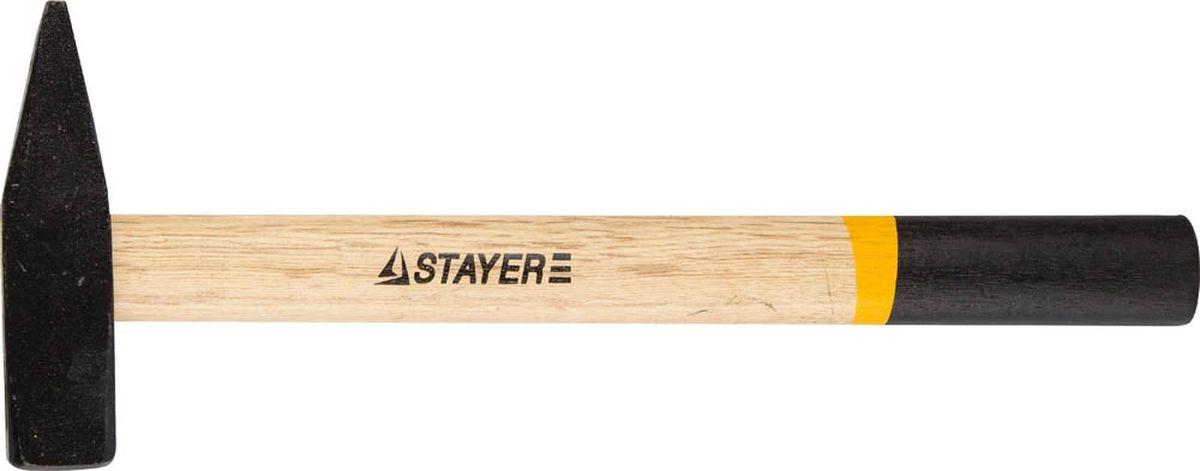 """Молоток слесарный Stayer """"Master"""" кованый с деревянной рукояткой, 0.6 кг ( 2002-06 )"""