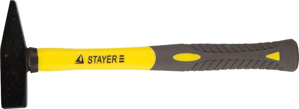 Молоток Stayer Profi слесарный кованый с двухкомпонентной фиберглассовой ручкой, 0,4 кг20050-04