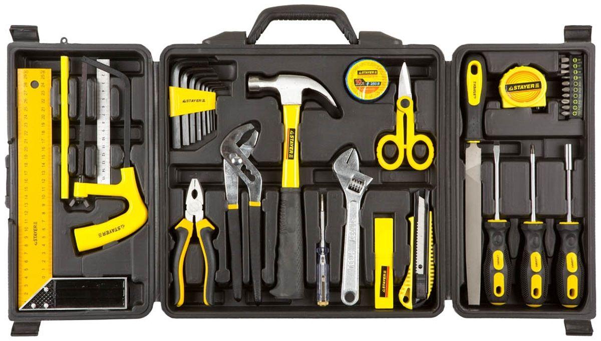 Набор Stayer Инструменты Standard Умелец для ремонтных работ, 36 предметов22055-H36