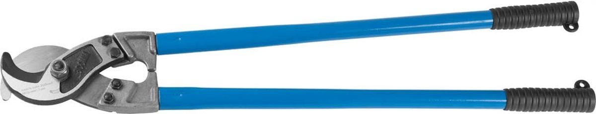 """Кабелерез Зубр """"Эксперт"""" для резки небронированного кабеля из цветных металлов, кабель сечением до 300 мм, 800 мм ( 23341-80 )"""