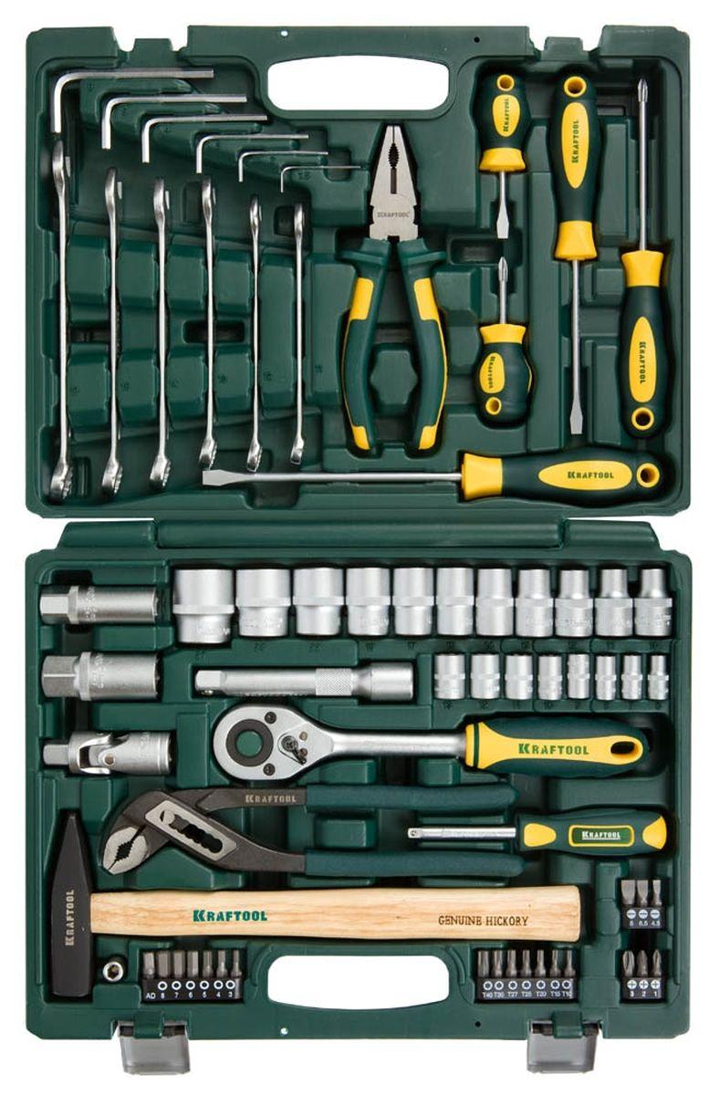 Набор Kraftool Expert Слесарно-монтажный инструмент, 66 предметов27976-H66