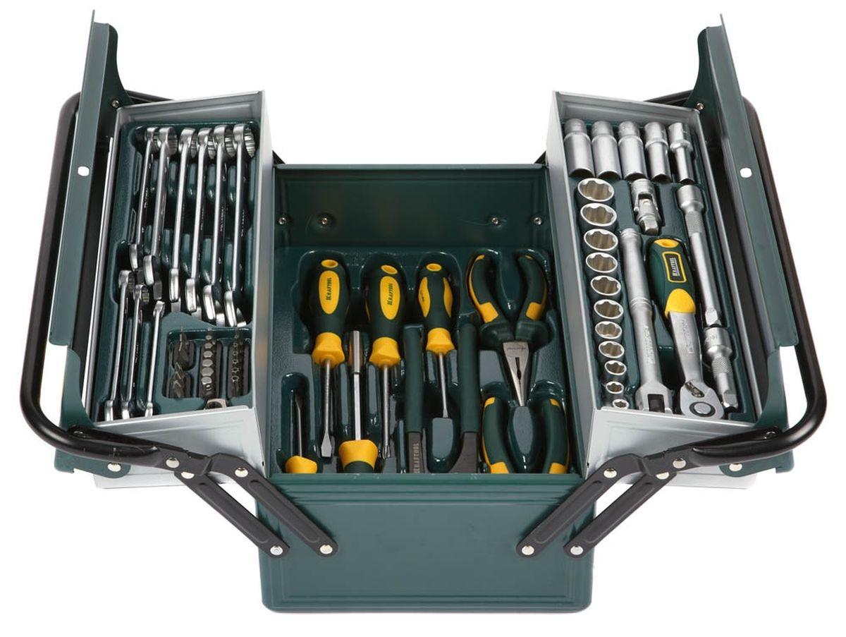 Набор Kraftool Industry Слесарно-монтажный инструмент, 59 предметов27978-H59