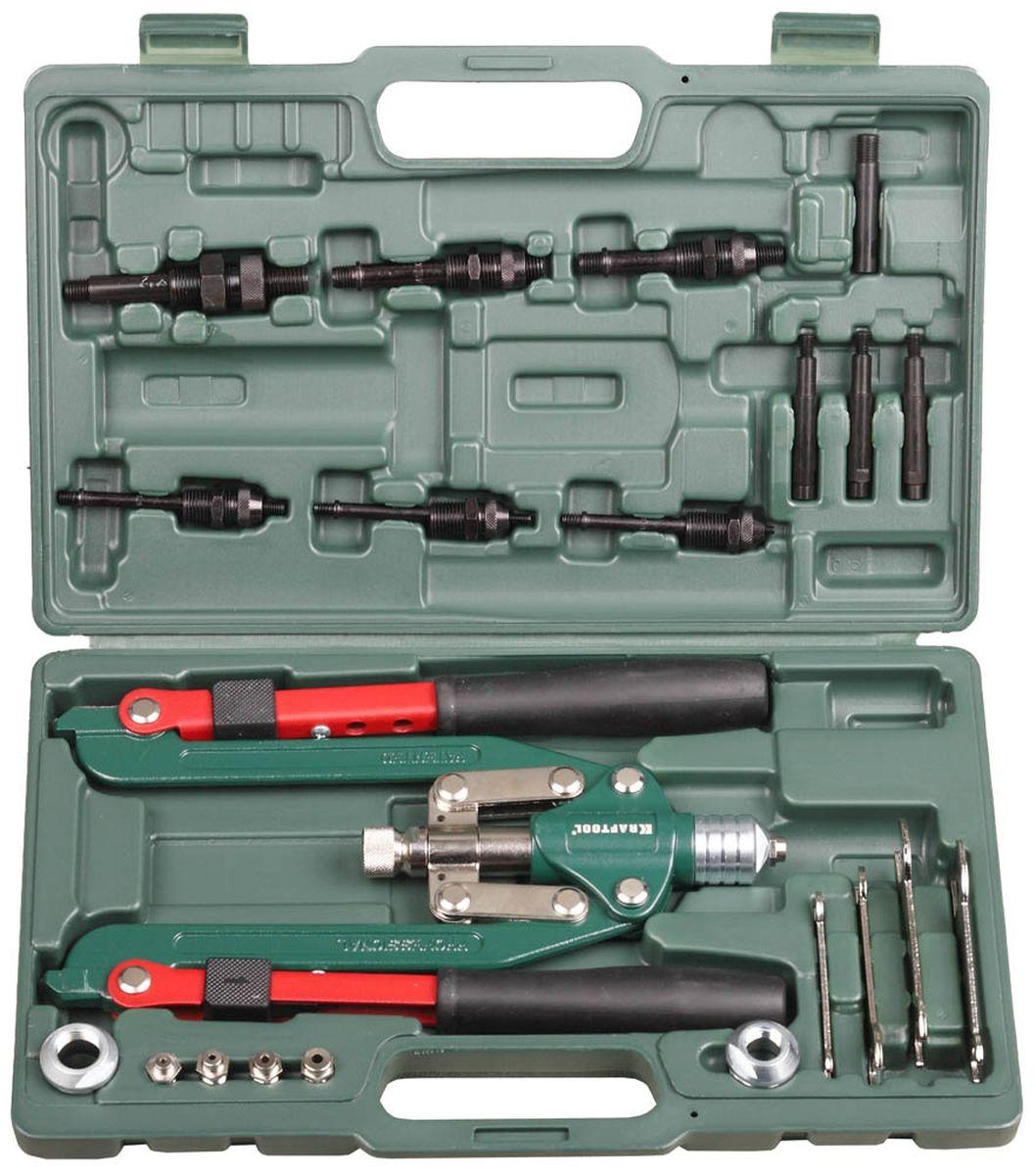 Заклепочник двуручный складной силовой Kraftool Pro-Kraft, для резьбовых заклепок31182