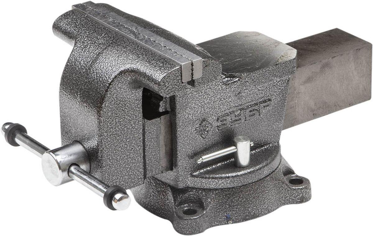 Тиски Зубр Мастер слесарные поворотные, 200 мм3258-200