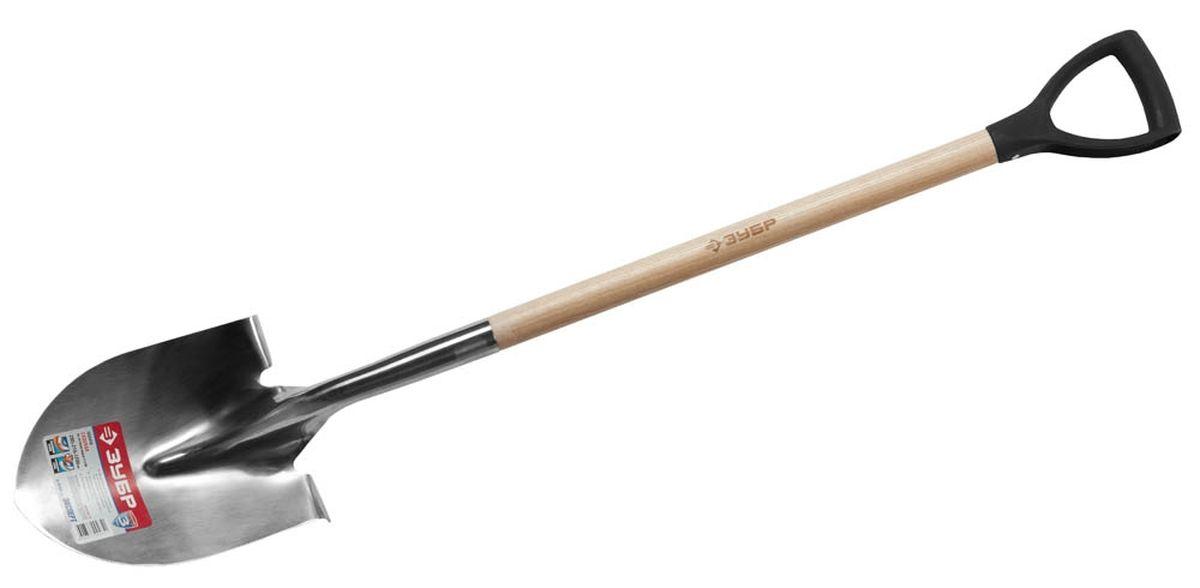 Лопата ЗУБР Эксперт, штыковая, садовая, 290х210х1200 мм4-39430_z01