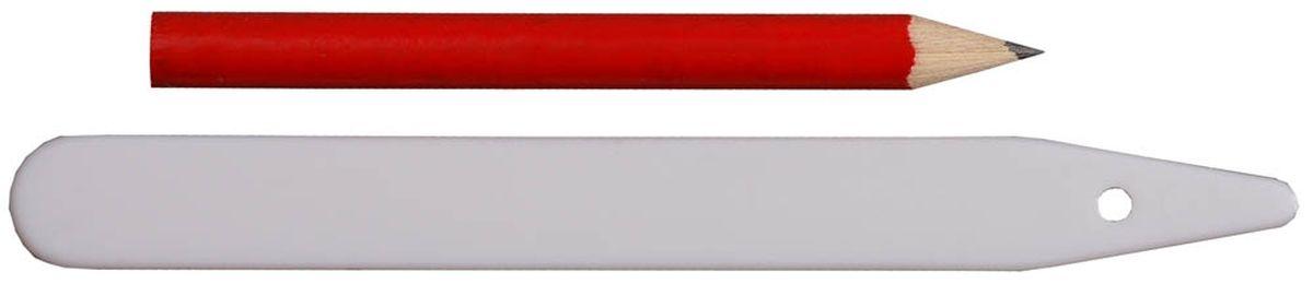 Набор меток-ориентиров Grinda для засеянных грядок, 25 ярлыков и карандаш, 125 мм8-422367-H26_z01