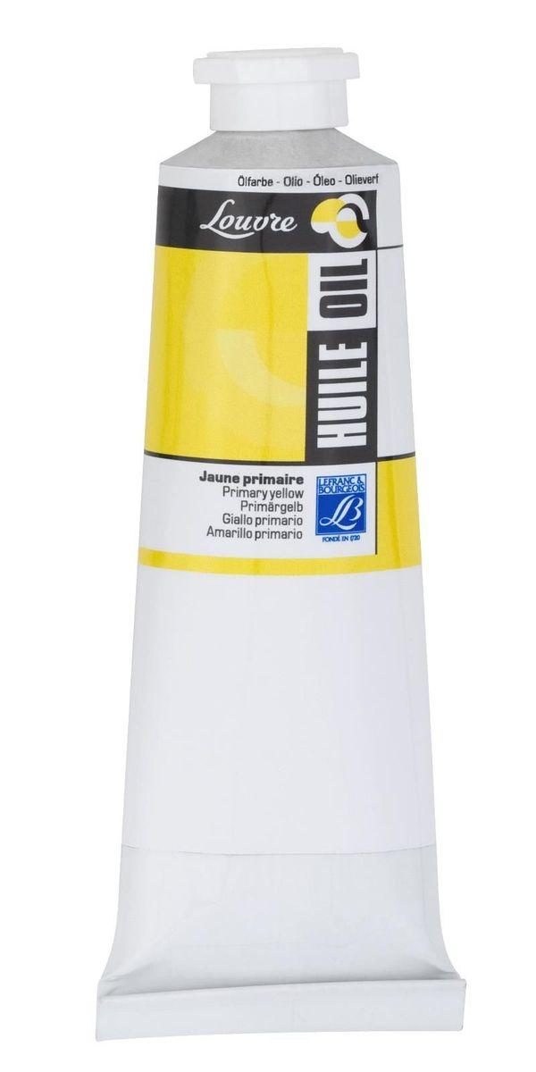 Масляная краска Lefranc & Bourgeois Louvre, цвет: 153 Желтый основной, 60 млLF105019Художественные акриловые краски Louvre - это высококачественная краска. Подходит для работы по холсту, бумаге, картону ,дереву. Идеально смешиваются между собой, при этом получается чистый цвет, благодаря высокой концентрации пигмента. Водорастворимы.
