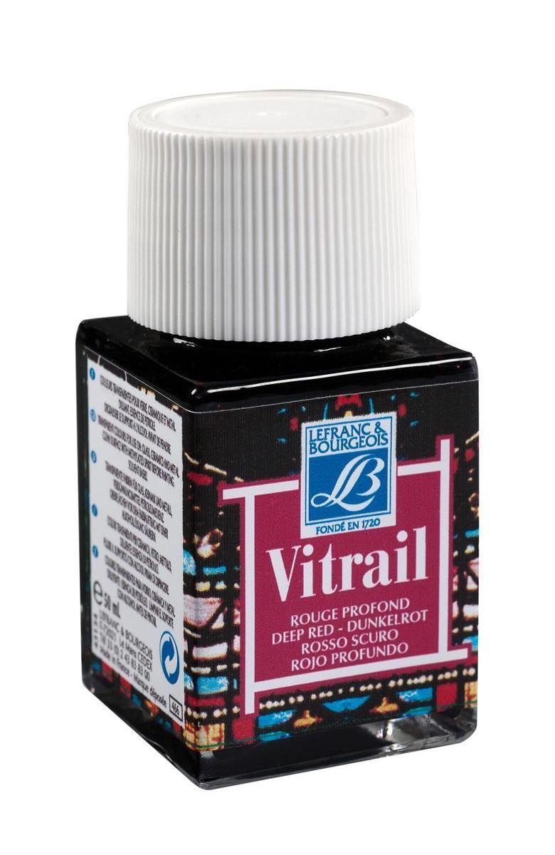 Краска по стеклу Lefranc & Bourgeois Vetrail, 50 мл, цвет: 466 Насыщенный красный. LF211584LF211584Краски Vitrail густые, прозрачные, взаимосмешиваемые. При нанесении образуют ровный глянцевый слой, не образуют подтеков и не мутнеют после высыхания. Краски для стекла Vitrail представлены в ассортименте из 18 ярких глянцевых цветов в стеклянных баночках по 50 мл. Эти краски идеально походят для создания витражей и декорирования.