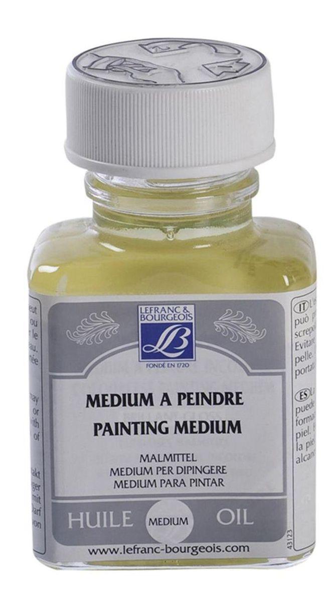 Медиум Lefranc & Bourgeois бесцветный, живописный, 75 мл. LF300026LF300026