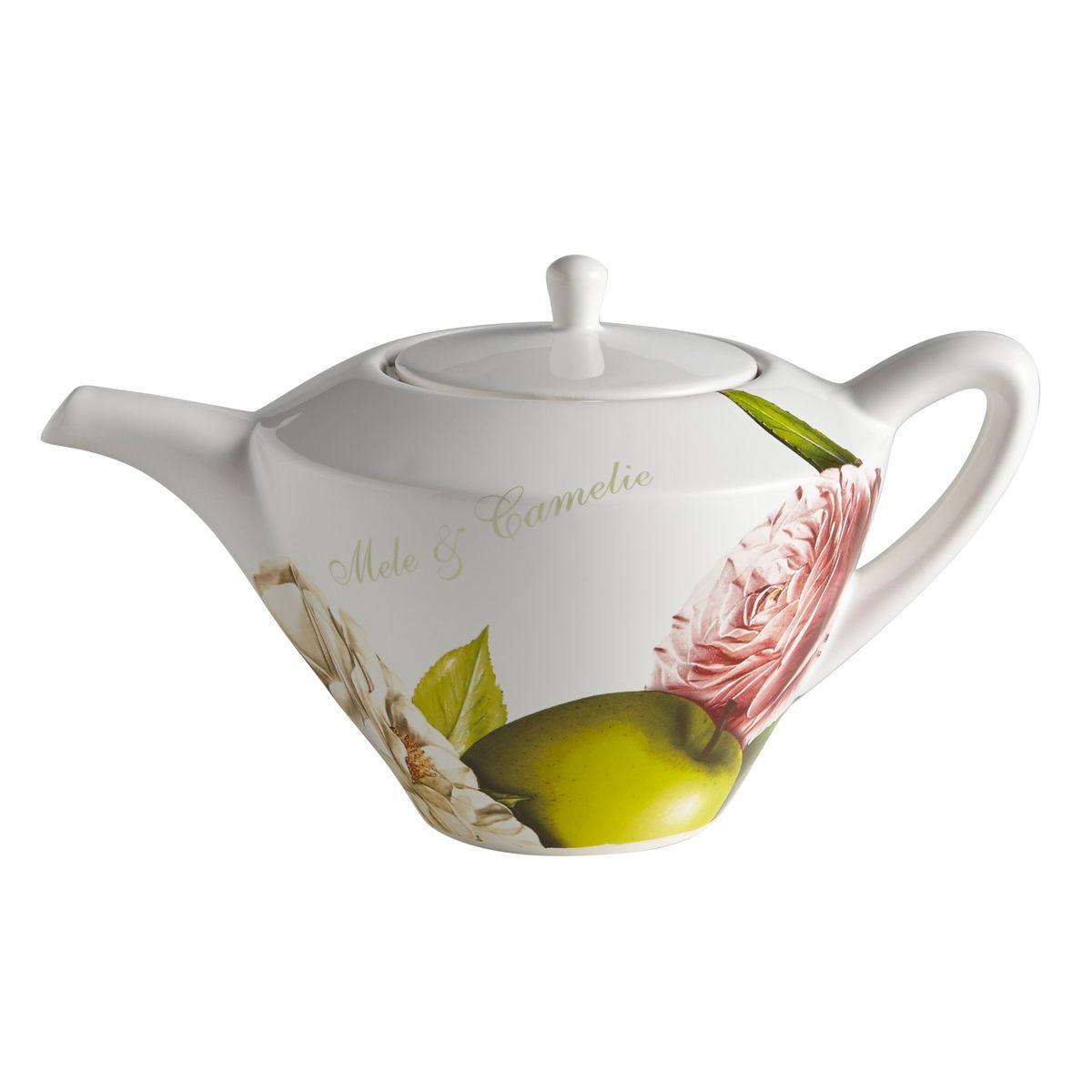 Чайник Яблоки и камелии. CV2-4843-ALCV2-4843-ALКерамическая посуда итальянской фабрики «Ceramiche Viva» известна не только своим превосходным качеством, но и удивительными, неповторимыми дизайнами, отличающими ее от любой другой керамической посуды.Помимо внешней привлекательности посуда «Ceramiche Viva» обладает и прекрасными практическими свойствами: посуду «Ceramiche Viva» можно мыть в посудомоечной машине и использовать в микроволновой печи. Не разрешается применять при мытье посуды абразивные порошки. Поверхность изделий покрыта высококачественной глазурью, не содержащей свинца.