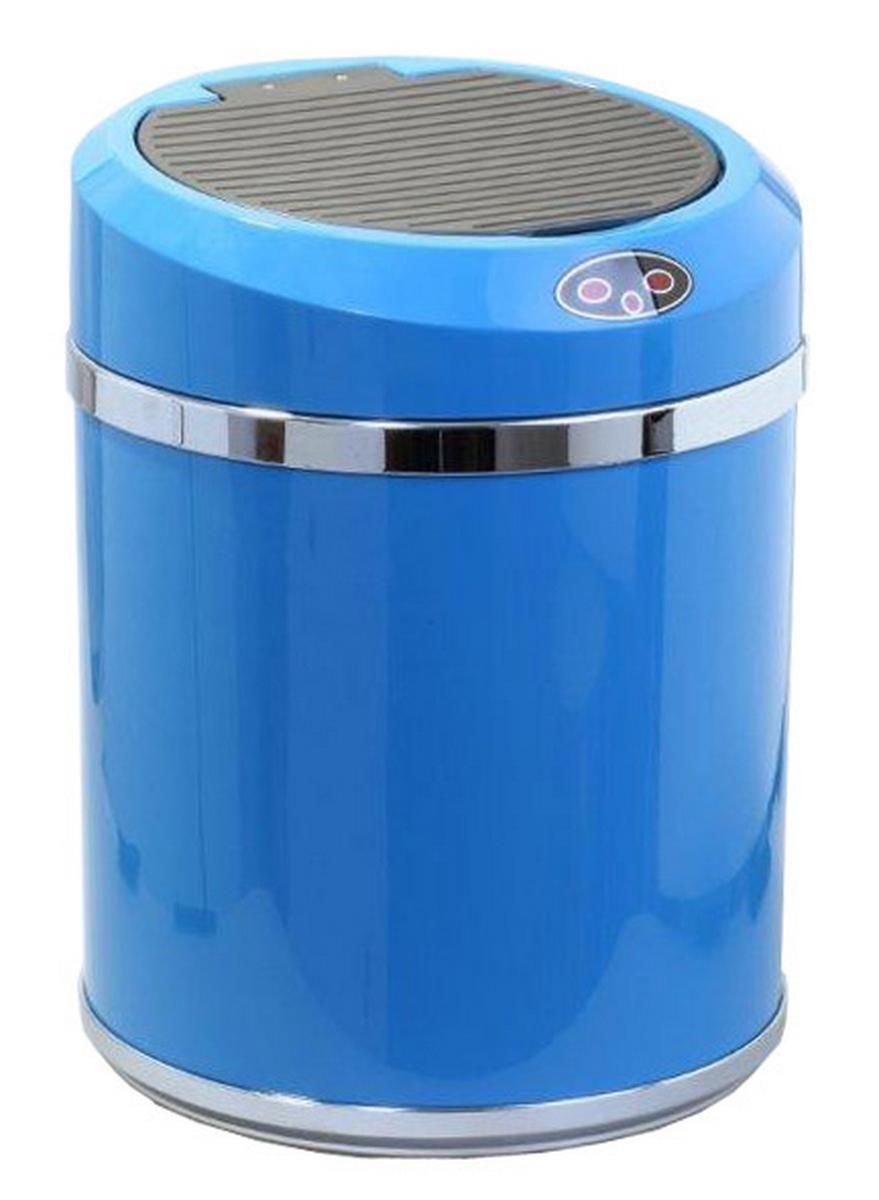 Ведро для мусора DEW A, сенсорное, цвет: голубой, 11 лBP-01B-11DEW Ведро для мусора, сенсорное A пластик, голубое, 11 л