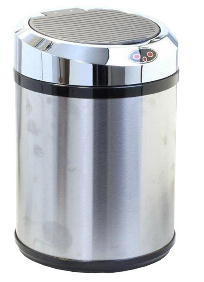 Ведро для мусора DEW A, сенсорное, 11 лBP-01-S-11DEW Ведро для мусора, сенсорное A металл, 11 л