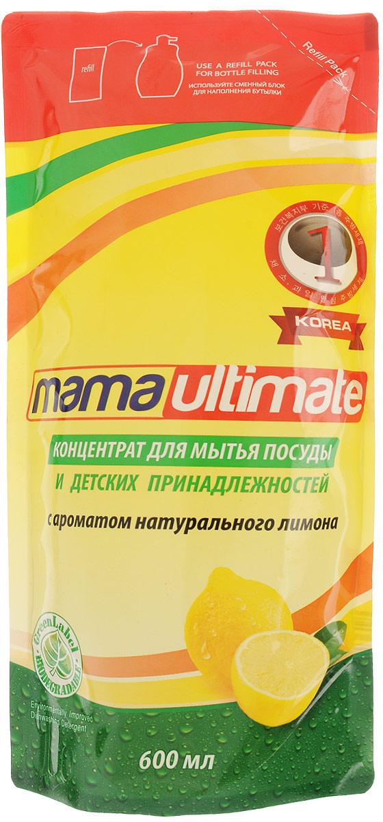 Концентрат для мытья посуды и детских принадлежностей Mama Ultimate, с ароматом натурального лимона, 600 мл43618Средство Mama Ultimate, выполненное на основе природных минералов с биоразлагаемой формулой, предназначено для мытья посуды и детских принадлежностей. Обладает смягчающим эффектом для кожи рук, эффективно устраняет неприятные запахи, легко удаляет жир даже в холодной воде. Состав: (30% и более) вода, (5% или более, но менее 15%) натрия лауретсульфат, (менее 5%) алкилбензолсульфокислота, хлорид натрия, гидроксид натрия, метилхлоризотиазолинон и метилизотиазолинон, трилон Б, парфюмерная композиция, краситель. Товар сертифицирован.