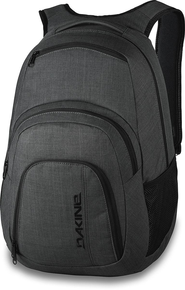 Рюкзак Dakine W16 DK CAMPUS 33L CARBON. 813005700108333 8130057Городской рюкзак с отделением для ноутбука ( до 15). Карман-органайзер, карман-термос, карман-сетка снаружи. Карман для очков из мягкого флиса.