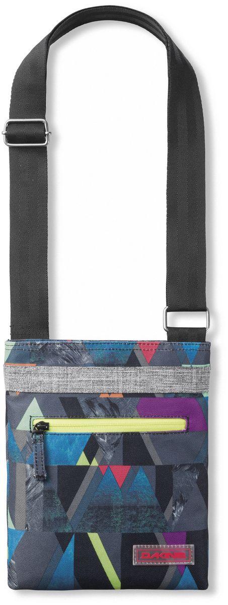 Сумка женская Dakine DK JIVE GEO. 0822009500117102 08220095Женская сумочка для документов, ключе, косметики и прочей мелочи. Карман на молнии снаружи и внутри.
