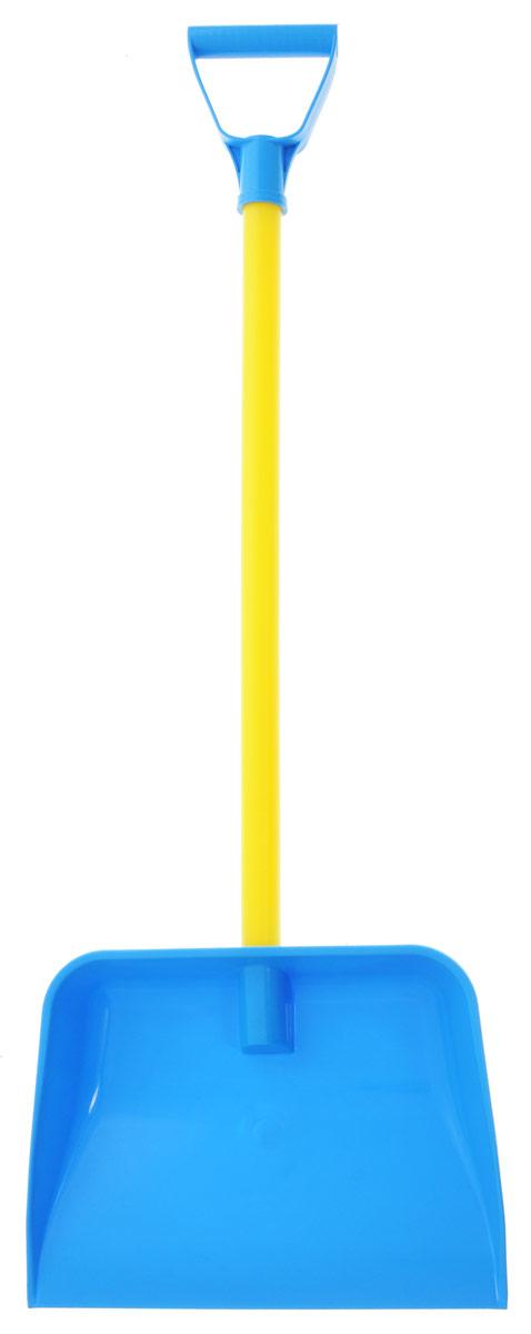 Zebratoys Лопата цвет голубой желтый15-10194Лопата Zebratoys отличается большим размером и формой, удобной для игр с песком или снегом. Лопата выполнена из ударопрочного материала. С такой лопатой ребенок почувствует себя взрослым и в состоянии справиться с любой работой.